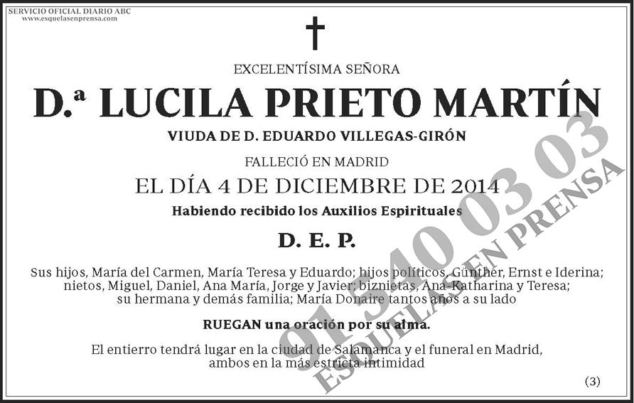 Lucila Prieto Martín